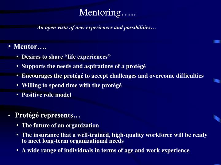 disadvantages of mentoring American institutes for research effective strategies for mentoring african american boys —2 • the ok program is a mentoring program that focuses on meeting the needs of african.