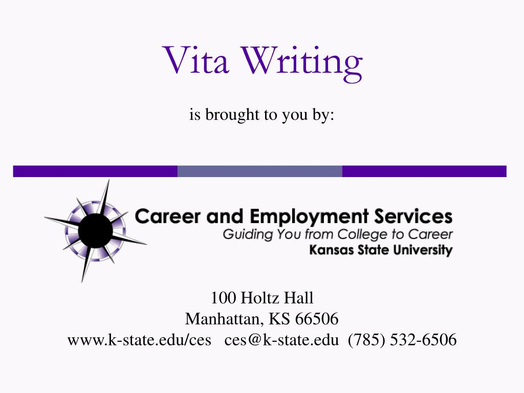 vita writing l.