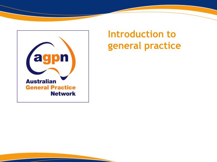 introduction to general practice n.