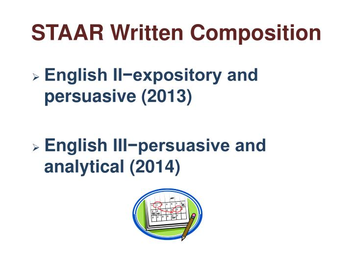 Ppt getting ready for staar writing powerpoint presentation id staar written composition malvernweather Images
