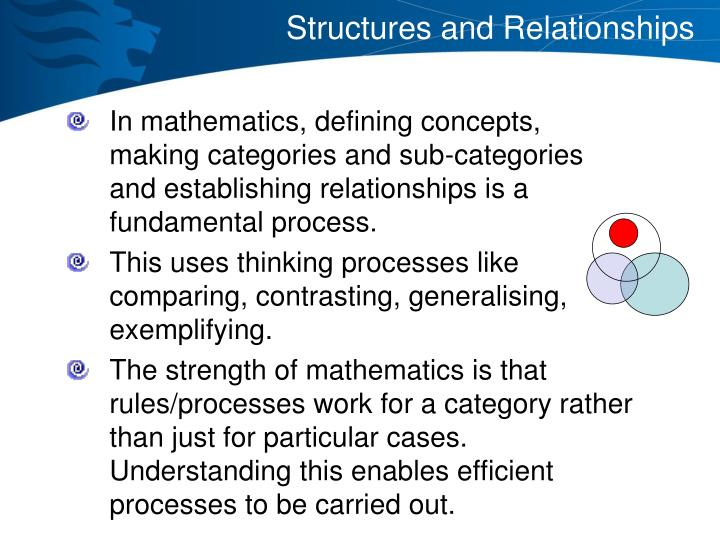 Structures and Relationships