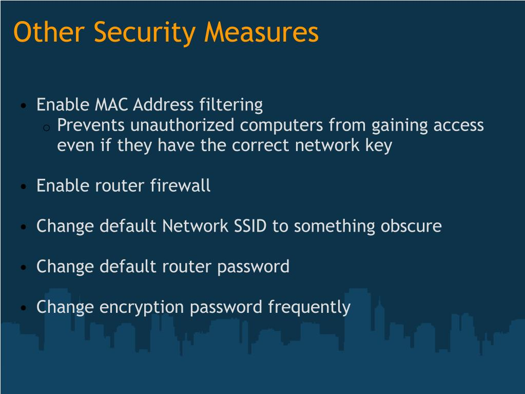 mac address filtering network secure