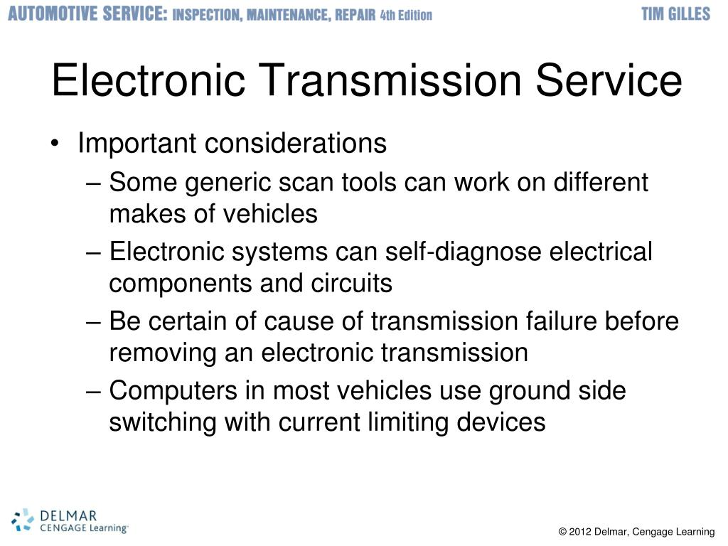 PPT - Automatic Transmission Diagnosis and Service