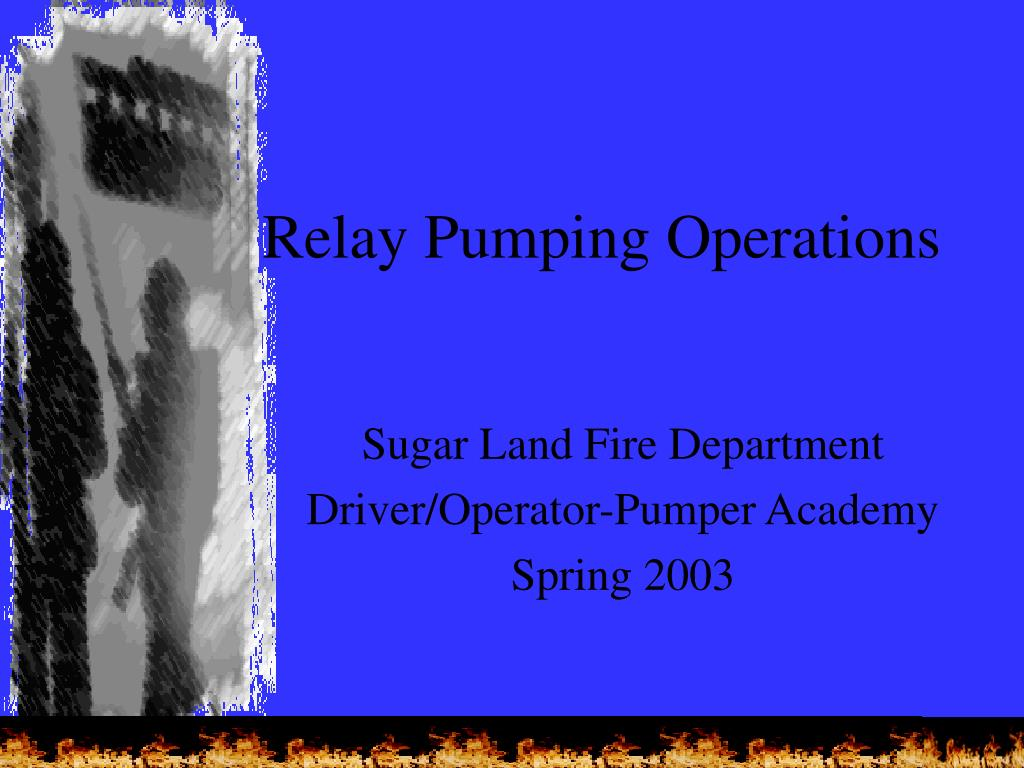 Ppt Relay Pumping Operations Powerpoint Presentation Id1113194 And Circuit Breaker N