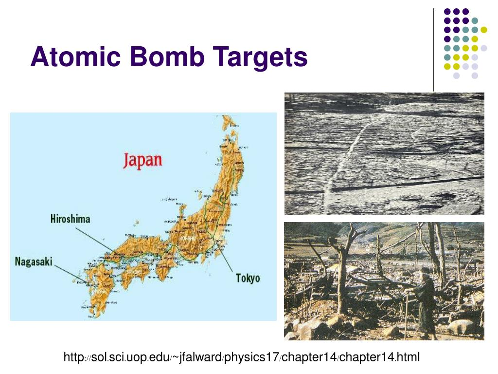 Atomic Bomb Targets