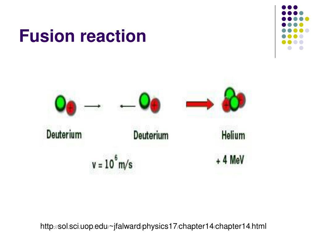 Fusion reaction