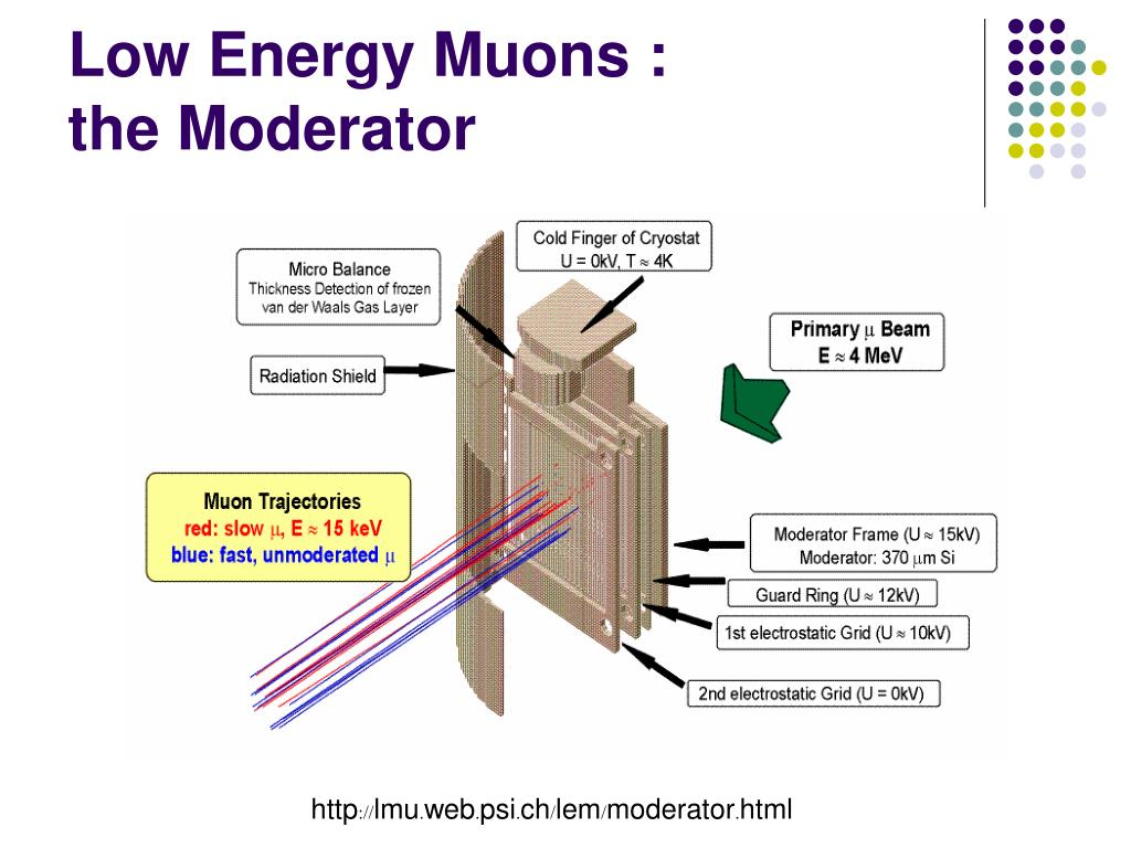 Low Energy Muons :