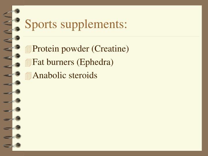 safety efficacy creatine ephedra anabolic steroid