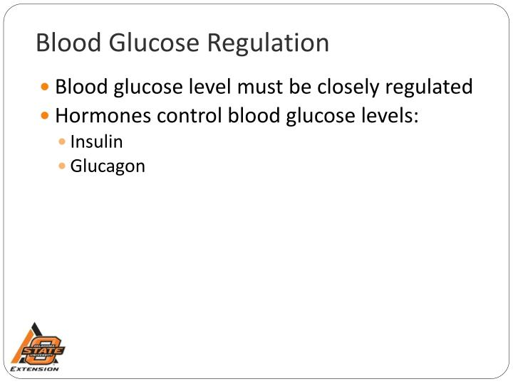 explain hormonal regulation of blood glucose level Blood glucose levels are closely regulated and maintained within a narrow range learn how the pancreatic hormones, insulin and glucagon, maintain normal blood sugar levels and how other nutrients.