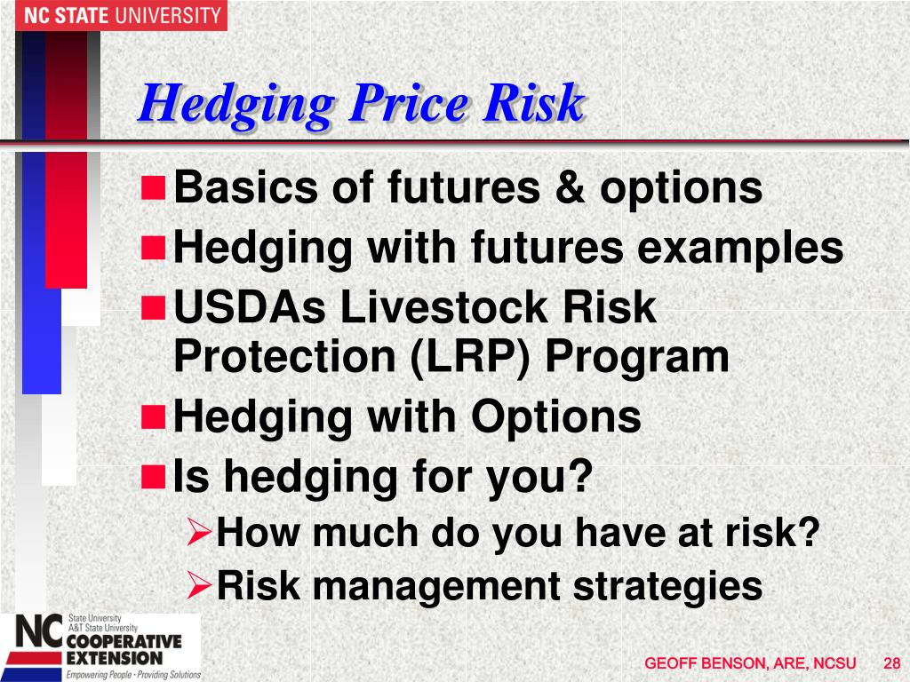 Hedging Price Risk