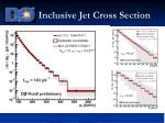 inclusive jet cross section11