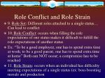 role conflict and role strain