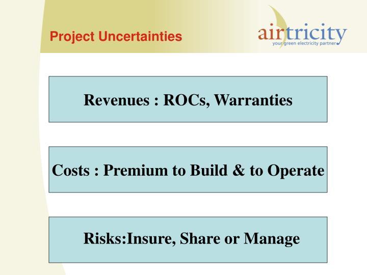 Project Uncertainties