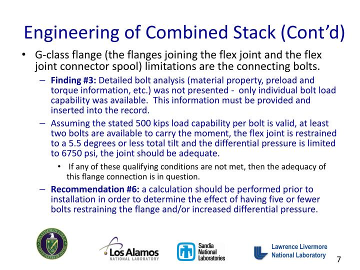 Engineering of Combined Stack (Cont'd)