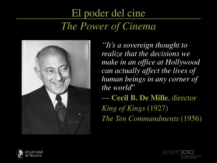 El poder del cine the power of cinema3