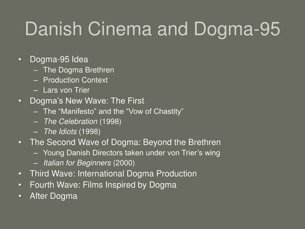 danish cinema and dogma 95 l.