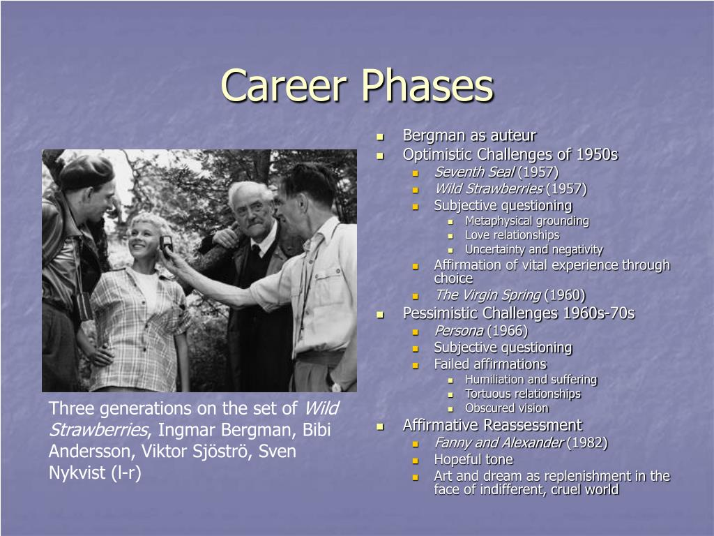 Career Phases