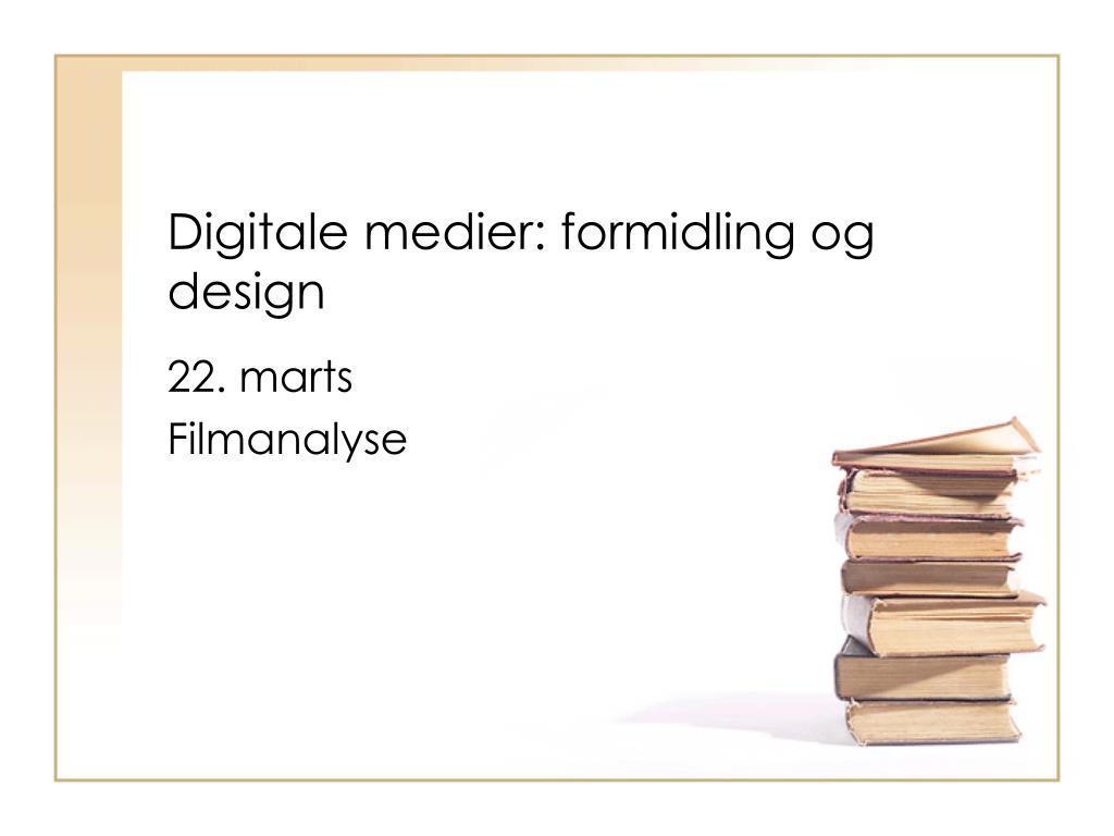 digitale medier formidling og design l.