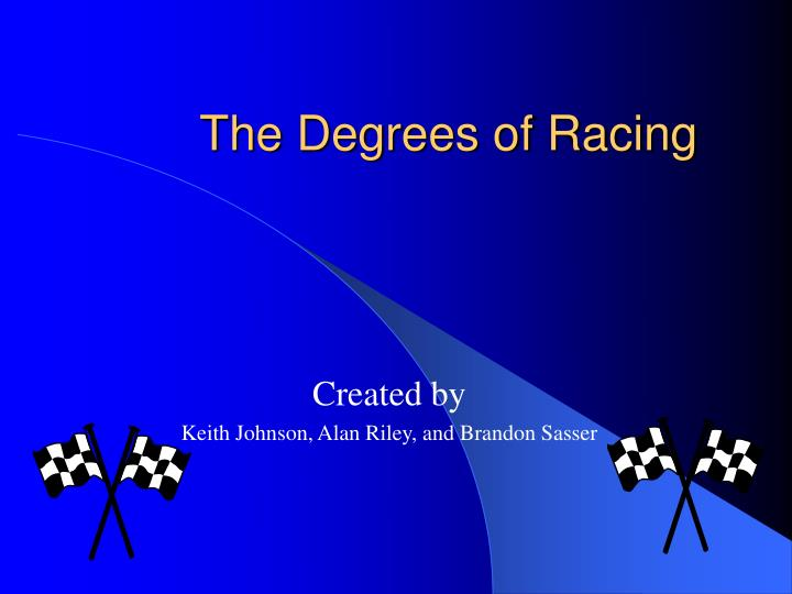 the degrees of racing n.