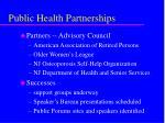 public health partnerships12