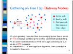 gathering on tree t s gateway nodes