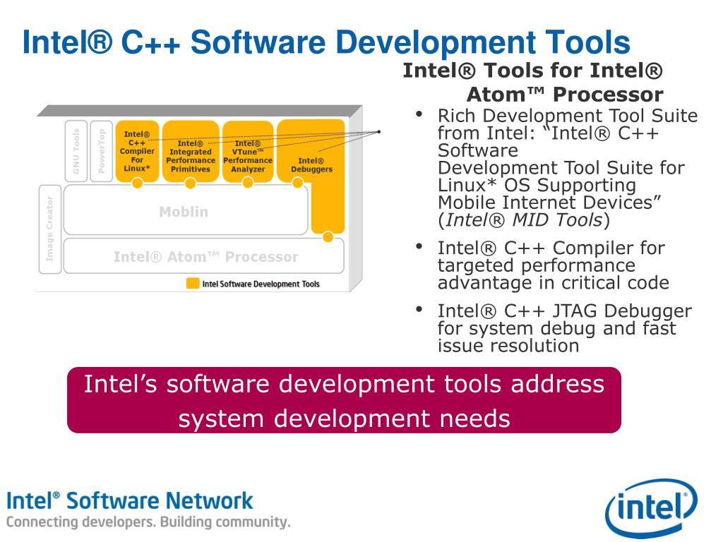 PPT - Intel® Software Development Tools for Intel® Atom