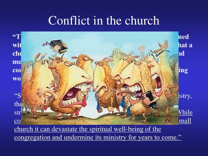 Conflict in the church