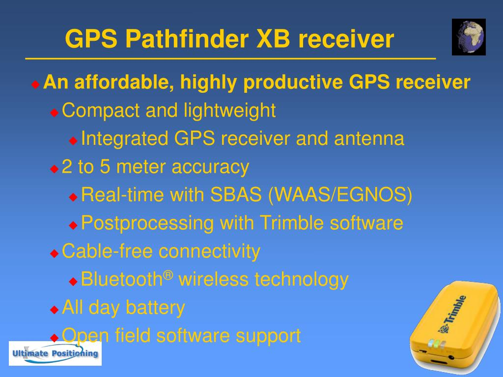 PPT - Trimble MGIS GPS Receivers PowerPoint Presentation