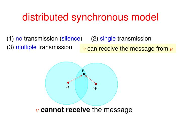 Distributed synchronous model