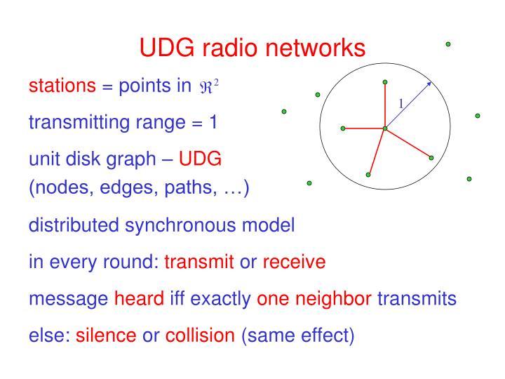 Udg radio networks