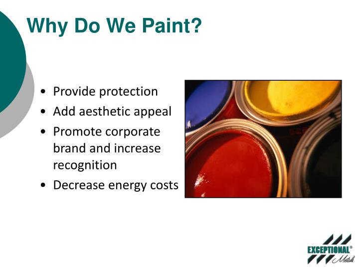 Why do we paint