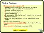 clinical features82