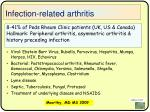 infection related arthritis