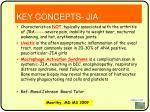 key concepts jia