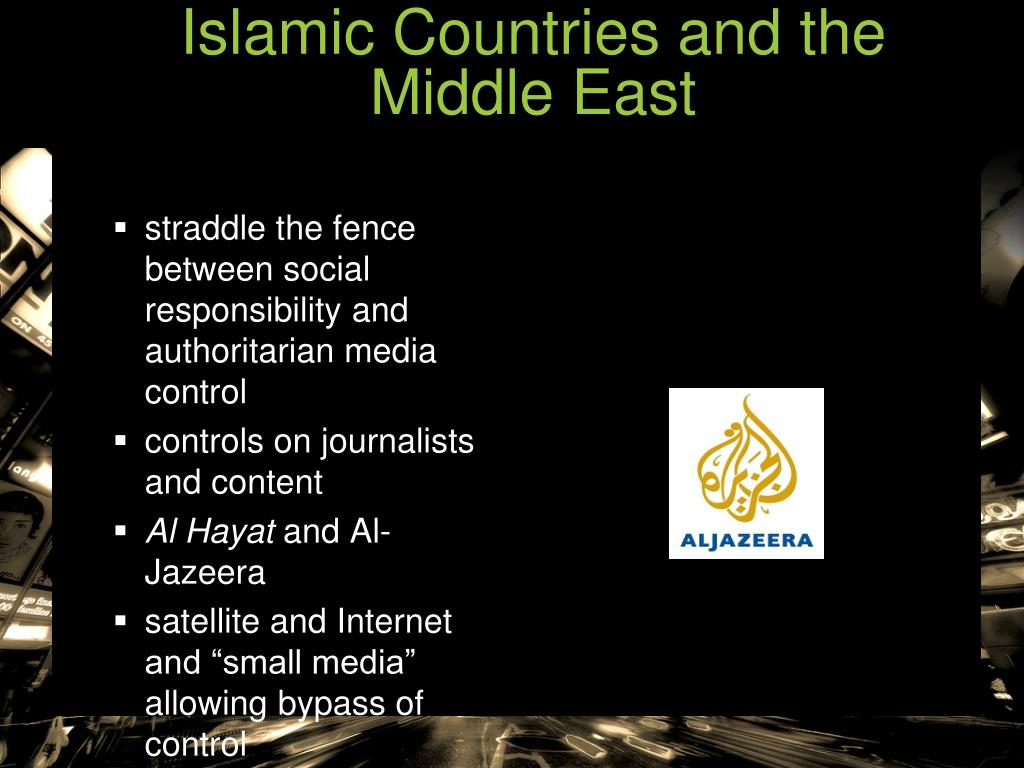 Islamic Countries and the Middle East