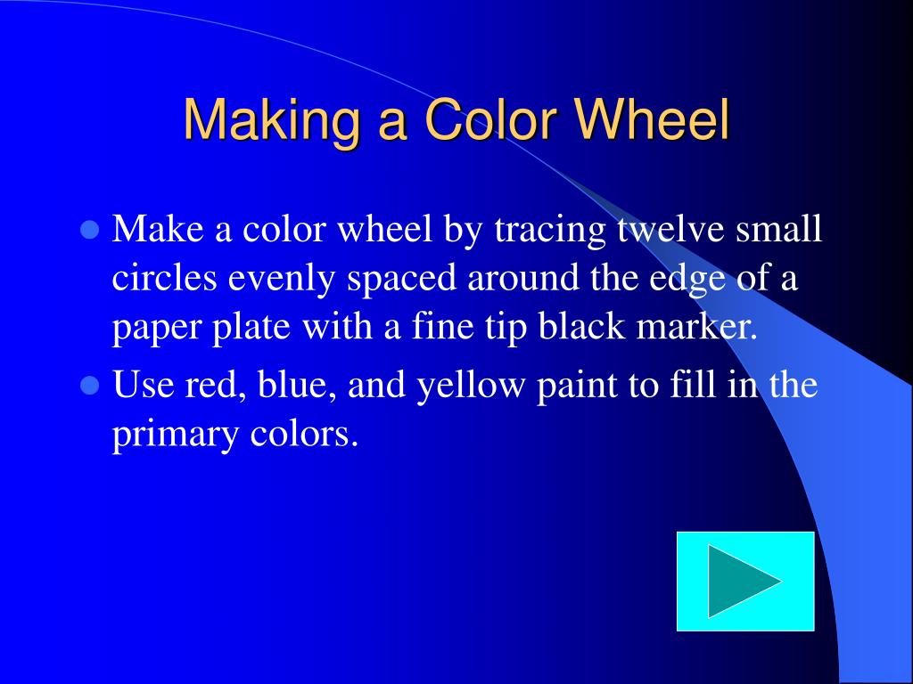 Making a Color Wheel