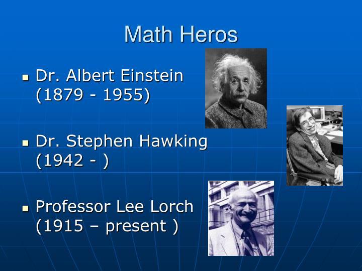Math Heros