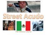 the mexico course
