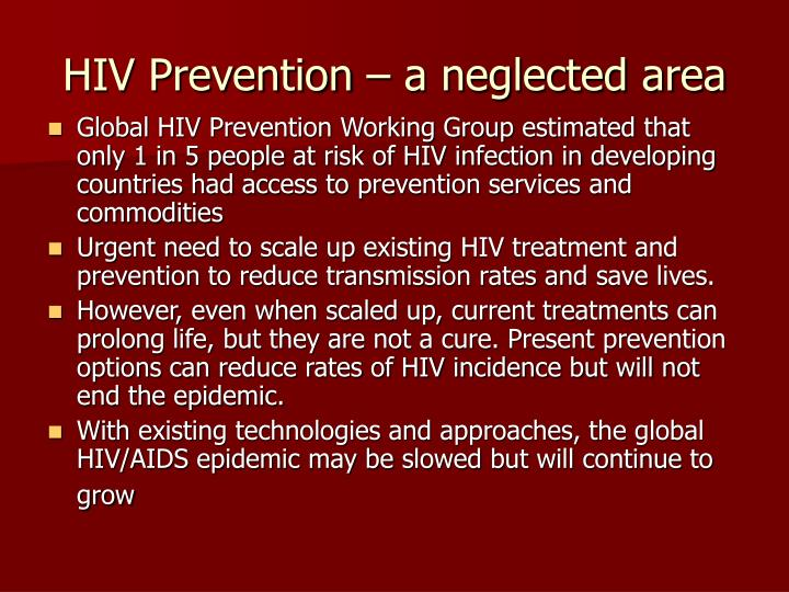 essay on hiv prevention Aids is the last stage in a progression of diseases resulting from a viral infection known as the human immunodeficiency virus (hiv or aids virus)  adhere to the prevention tips mentioned.