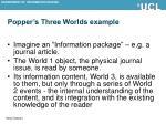 popper s three worlds example