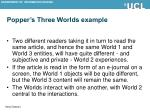 popper s three worlds example1