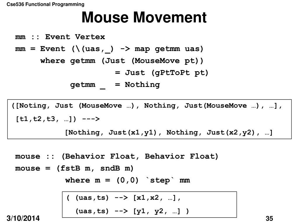 Mouse Movement