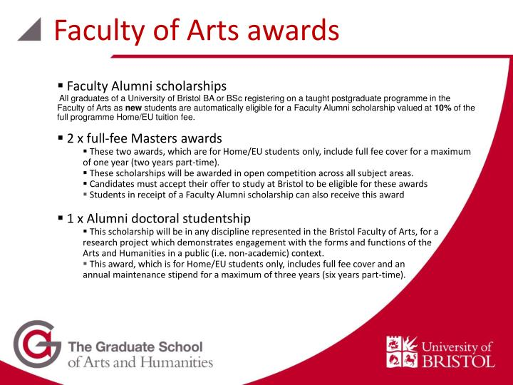 Faculty of Arts awards