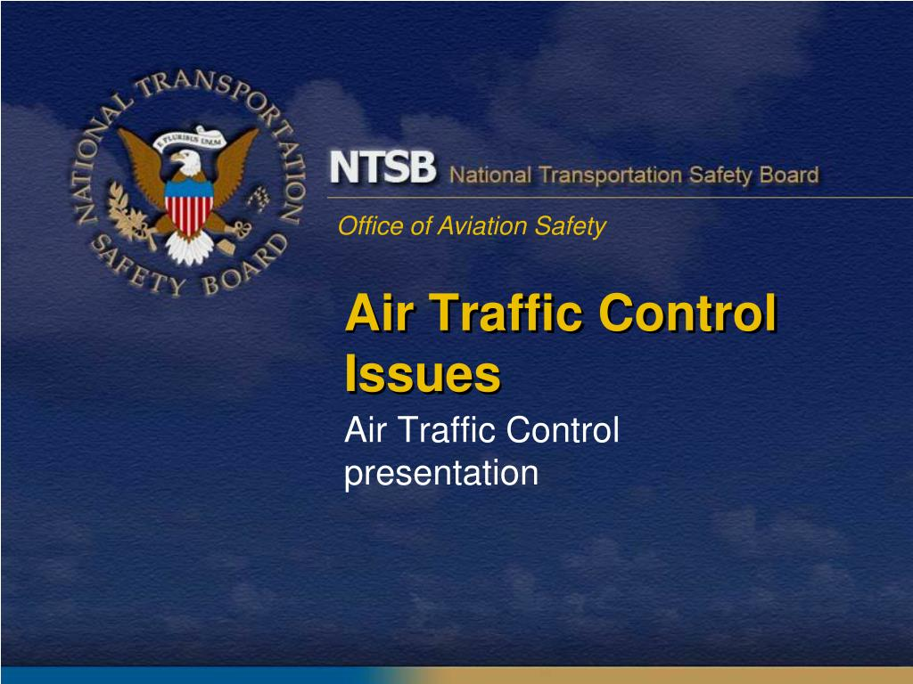 air traffic control issues l.
