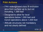faa actions