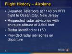 flight history airplane