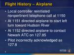 flight history airplane4