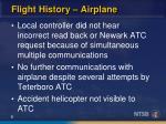flight history airplane6