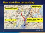 new york new jersey map