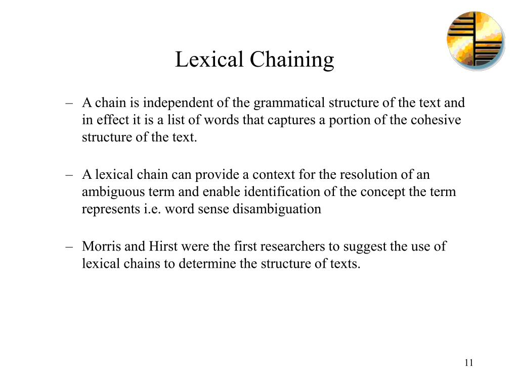Lexical Chaining